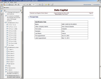 Sample Extended Land Registry Extract Executive Data Dato Capital 